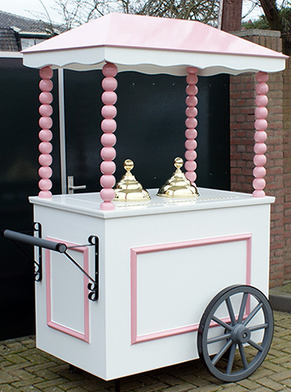 De Roze Authentieke IJskar